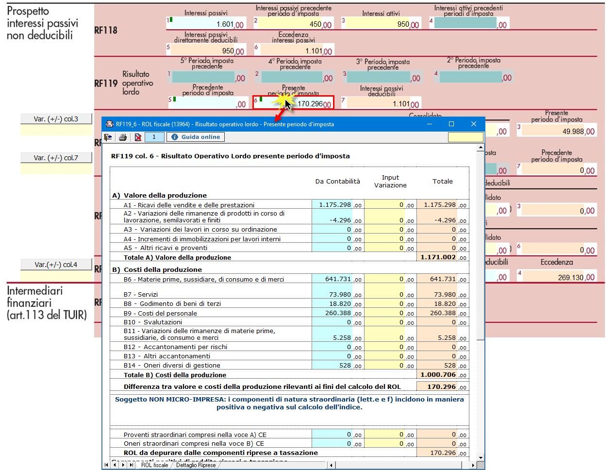 Redditi 2020: deducibilità degli interessi passivi per i soggetti IRES - Determinazione ROL fiscale