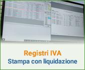 Registri Iva: stampa con liquidazione