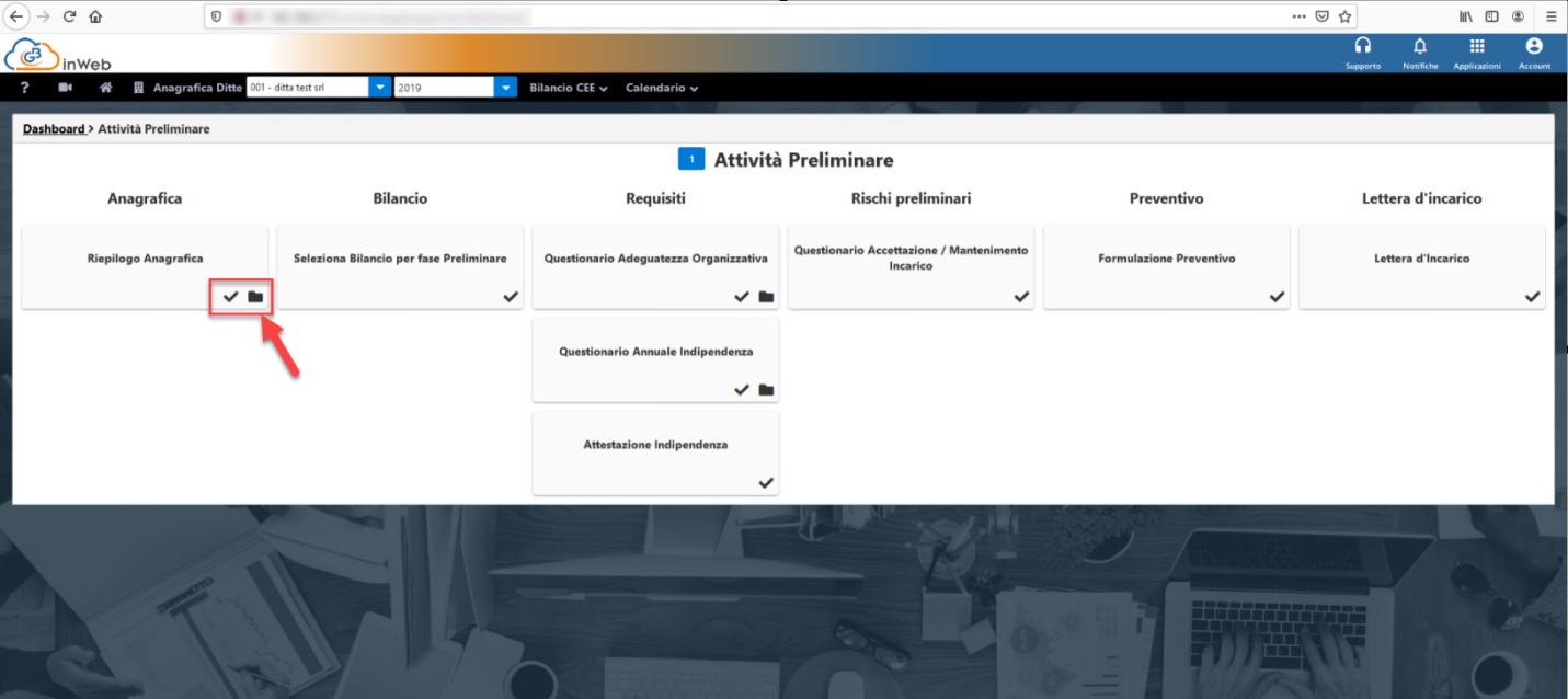 Revisione legale: anticipazioni nuovo modulo web - Barre di avanzamento