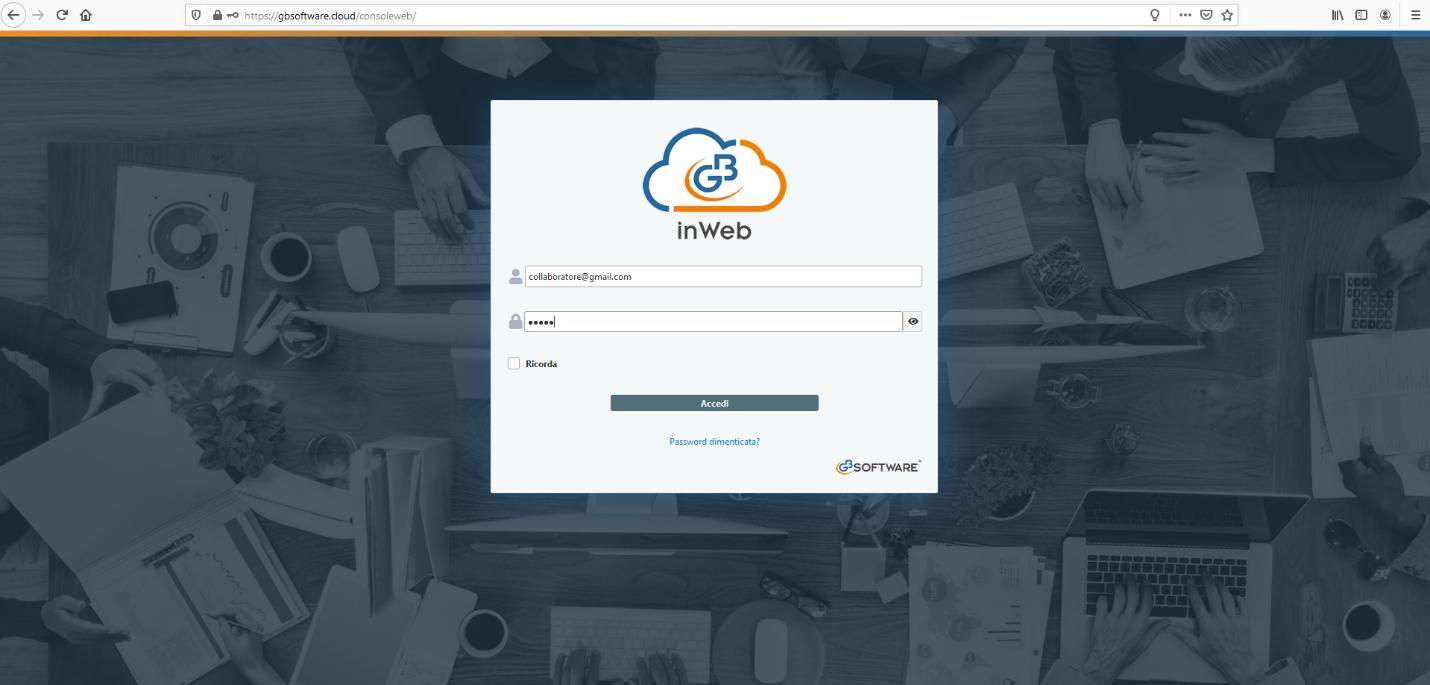 Revisione legale: anticipazioni nuovo modulo web - Grafica introduttiva GB inWeb