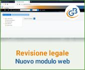 Revisione legale: anticipazioni nuovo modulo web