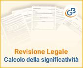 Revisione Legale: calcolo della significatività
