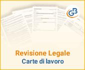 Revisione legale: carte di lavoro