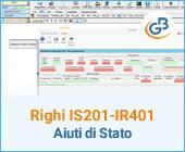 Righi IS201 – RS401: aiuti di Stato