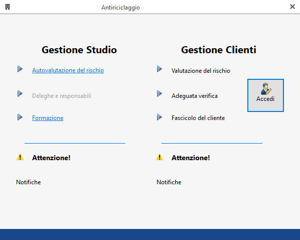 Gestione Studio e Cliente - Software Antiriciclaggio per commercialisti - INTEGRATO GB