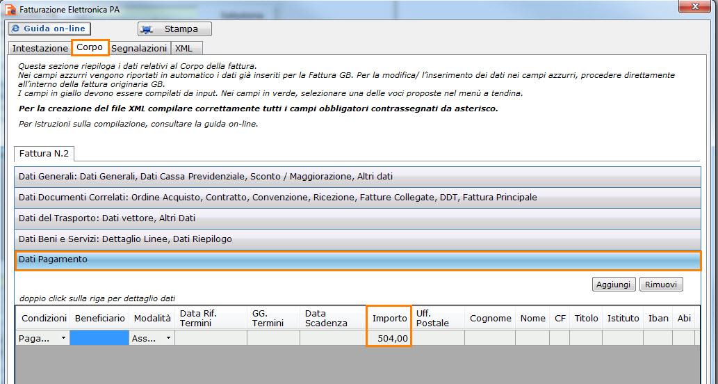 Split Payment - Fattura Elettronica - 2