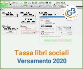 Tassa annuale libri sociali 2020: versamento entro il 16 marzo