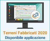 Terreni e Fabbricati 2020: disponibile applicazione