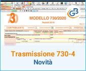 Trasmissione telematica 730-4 novità