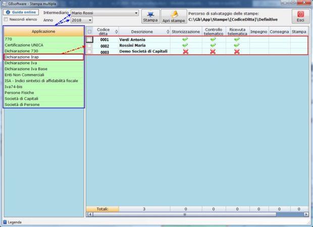 Utility 2019: Stampa multipla - Elenco ditte