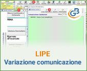 Variazione comunicazione Liquidazioni periodiche Iva: caso pratico